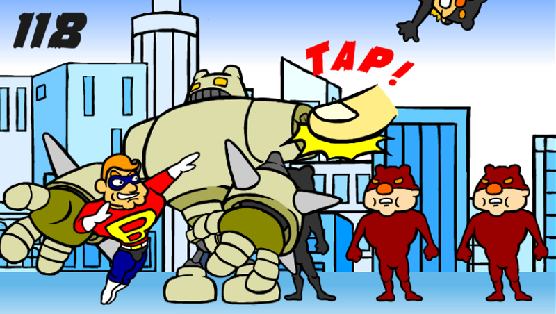 ダイナマイト ボブ-ロボット攻撃